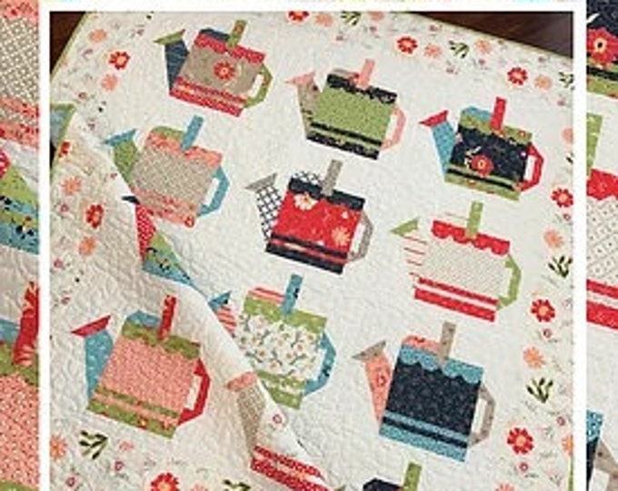 Watering Cans Quilt Pattern by Margot Languedoc for The Pattern Basket