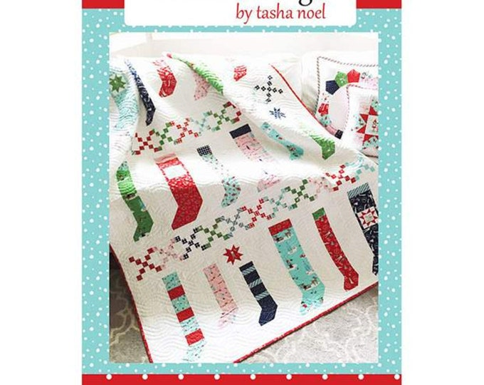 Pixie Stockings Quilt Pattern by Tasha Noel