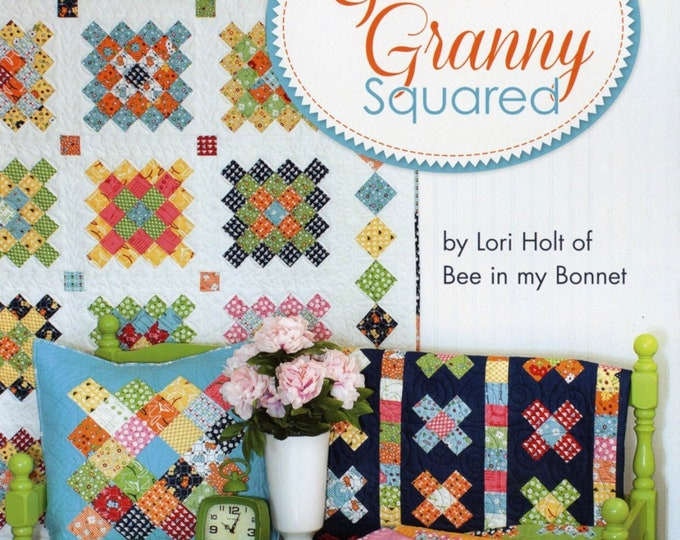 Great Granny Squared Quilt BOOK patterns designed by Lori Holt of Bee in my Bonnet for Its Sew Emma