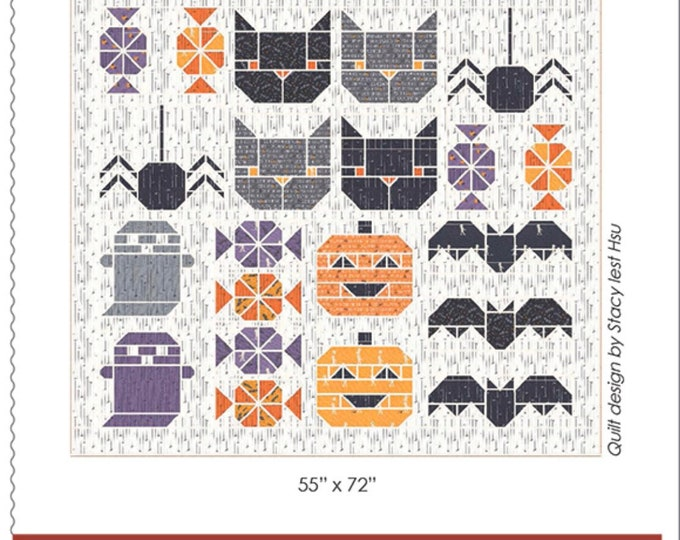 Spooky Sampler Pattern from Stacy Iest Hsu