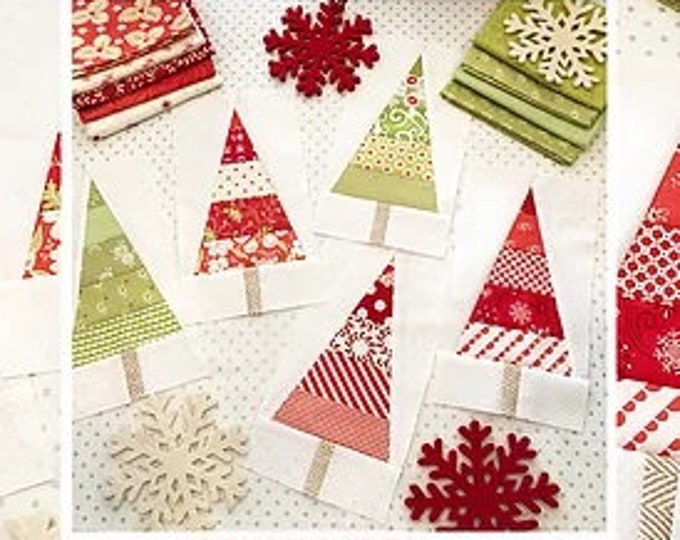 Christmas Pines Quilt Pattern by Margot Languedoc for The Pattern Basket
