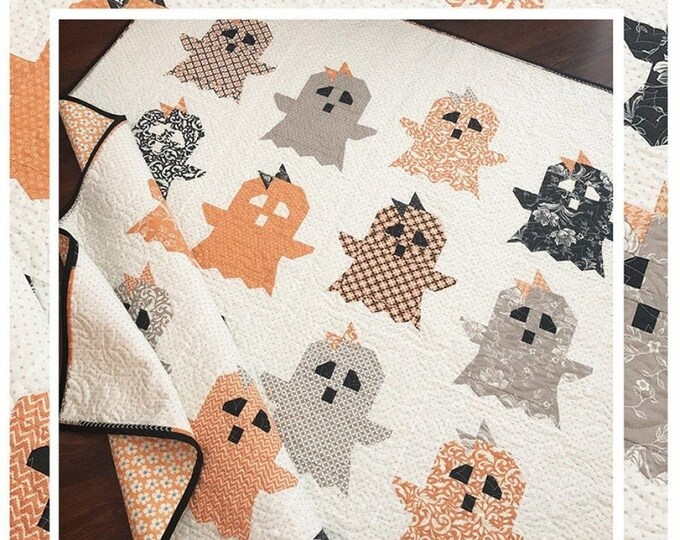 Boo! Quilt Pattern by Margot Languedoc for The Pattern Basket