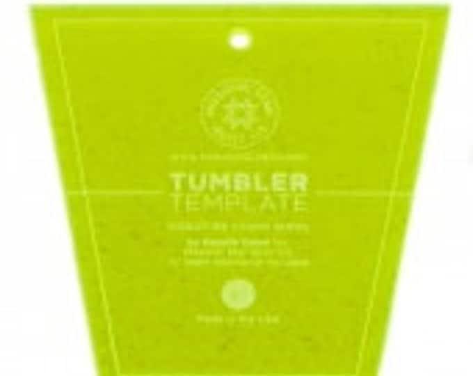 "Missouri Star Small Tumbler Template for 5"" Charm Packs"