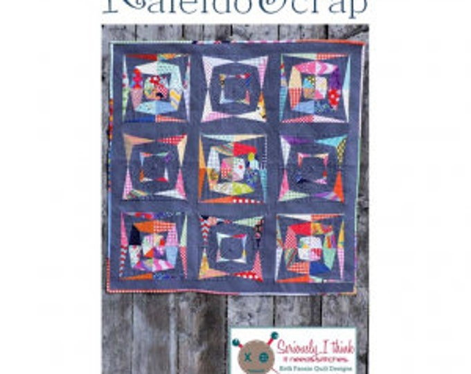 Kaleidoscrap Quilt Pattern by Kelly Fannin