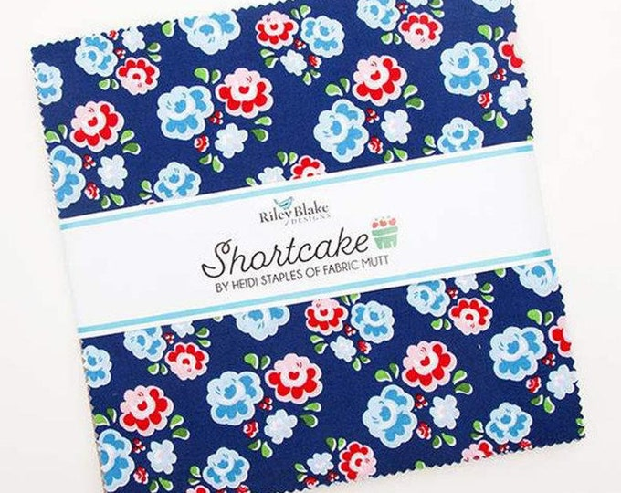 "Shortcake 10"" Stacker by Heidi Staples for Riley Blake Designs - 42 Pieces"