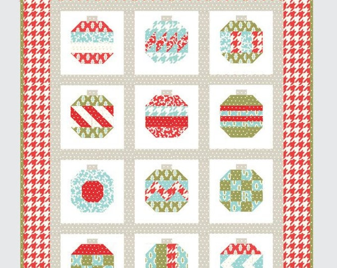 Vintage Holiday Quilt Pattern from Thimble Blossoms by Camille Roskelley