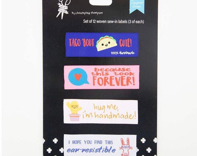 Christopher Thompson Sew-in Quilt Labels