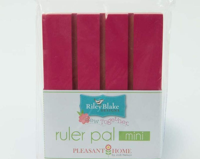 Pleasant Home Mini Ruler Pad - Hot Pink