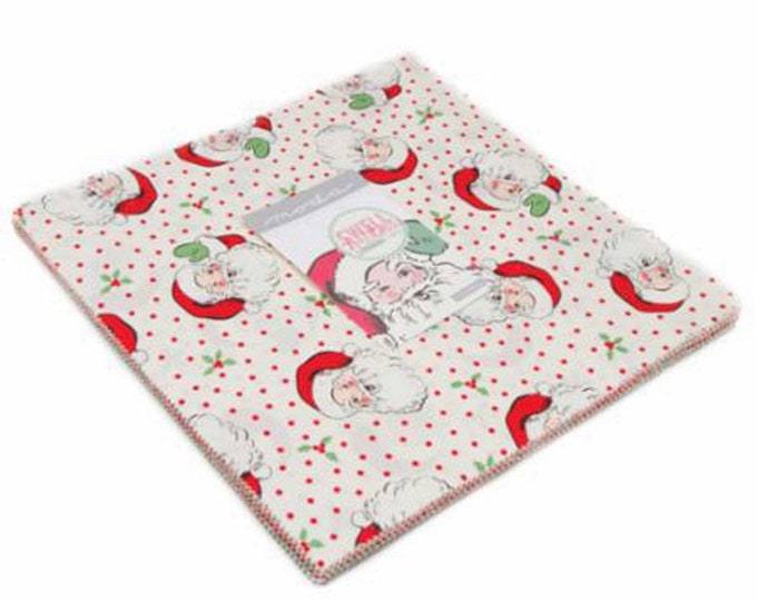 """Swell Sweet Christmas  10"""" Layer Cake by Urban Chiks for Moda - 42 Pieces"""
