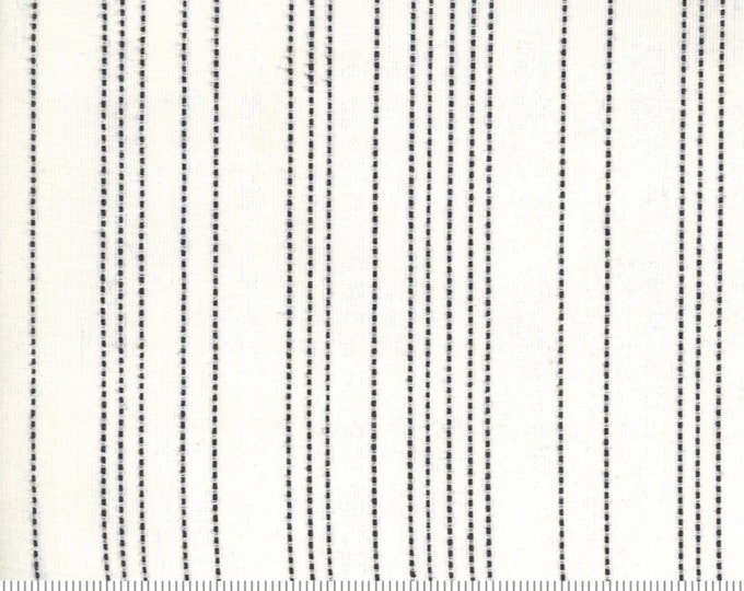 Moda Low Volume Stripe Ivory Fabric by Moda Wovens