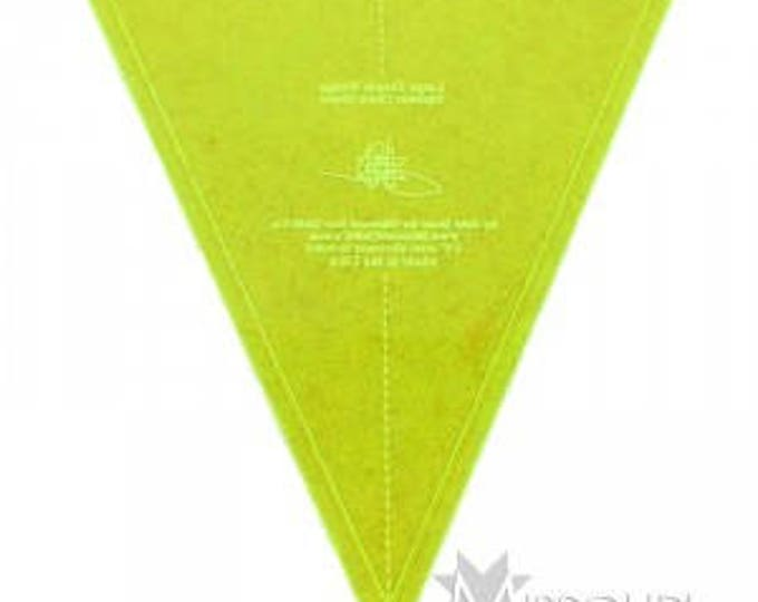 """Large MSQC Simple Wedge Template - 10"""""""