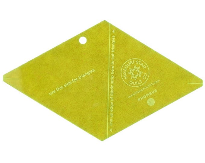 "MSQC Rhombus Template - 5"""