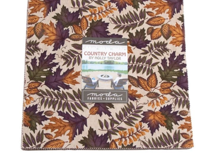 "Country Charm  10"" Layer Cake by Holly Taylor for Moda - 42 Pieces"