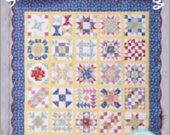 Seven Brothers Block Party  BOOK patterns designed for Easy Peicing Grid by Carmen Geddes of Tensisters