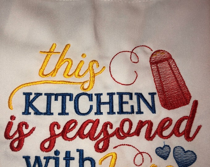 Kitchen Apron, Kitchen Accessory, Neighbor Gift, Bridal Shower Gift