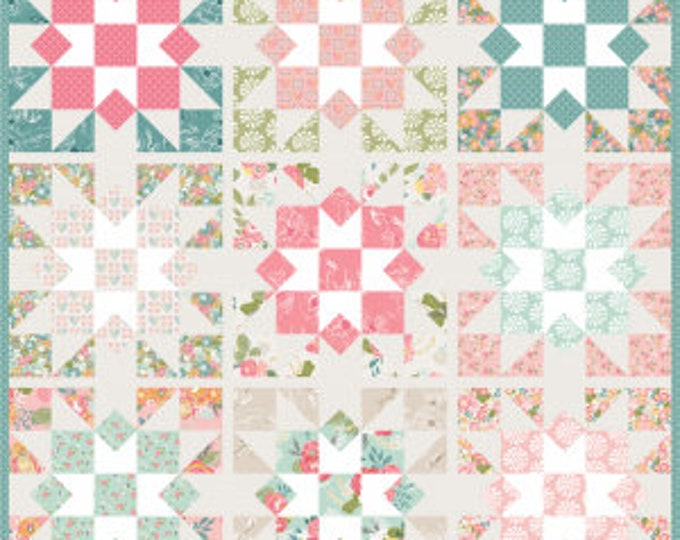 Southern Star Quilt Pattern by Keera Job for Riley Blake Designs