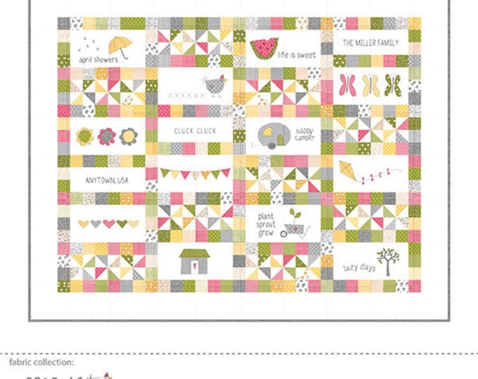 Hello Spring Quilt Pattern by Sweetwater