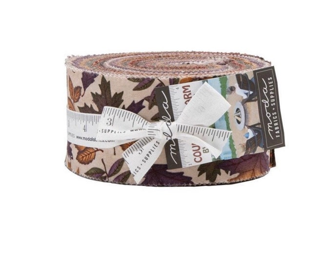 Country Charm Jelly Roll by Holly Taylor for Moda - 42 Pieces