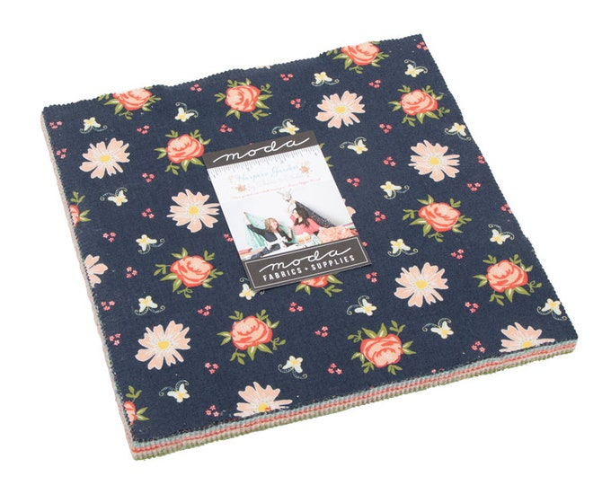 "Harpers Garden 10"" Layer Cake by Sherri and Chelsi for Moda - 42 Pieces"