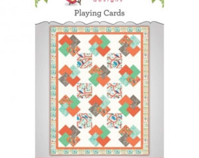 Playing Cards Quilt Pattern by Main Street Market Designs