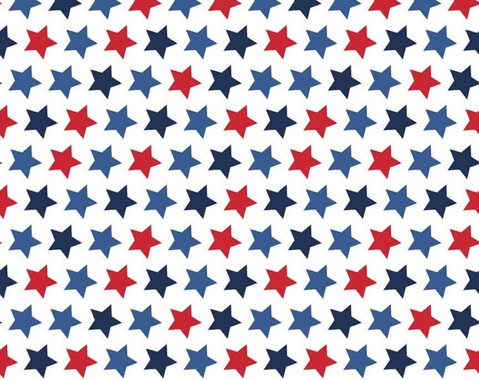 Stars Patriotic Fabric by Riley Blake Designs
