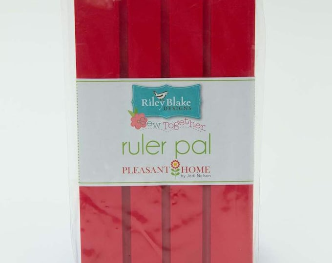 Pleasant Home Ruler Pad - Red