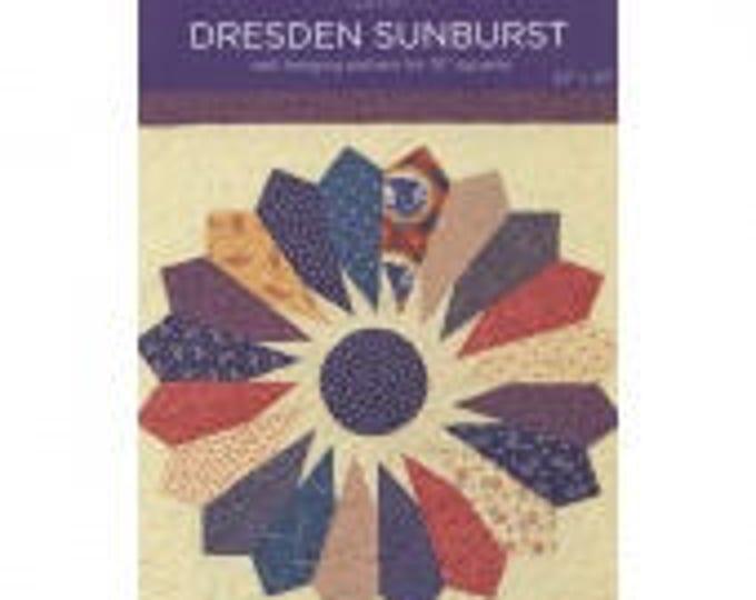 MSQC Dresden Sunburst Quilt Pattern