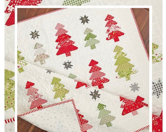 Tis The Season Quilt Pattern by Margot Languedoc for The Pattern Basket