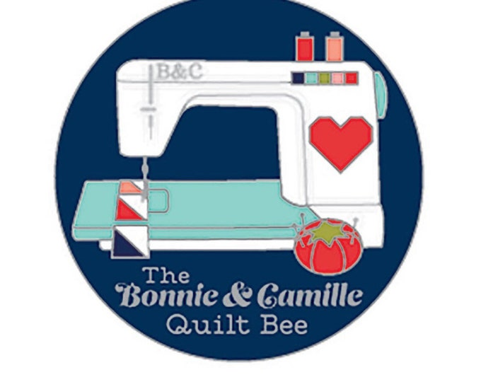 Bonnie and Camille Enamel Magnetic Needle Minder