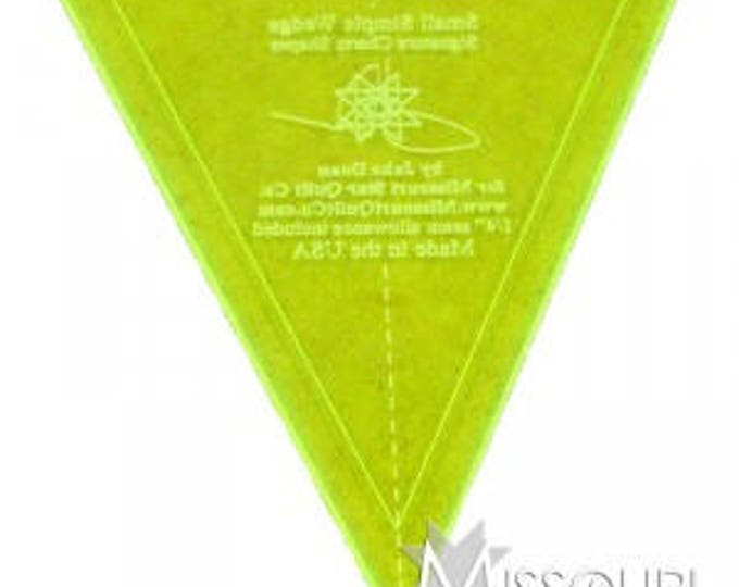 """Small MSQC Simple Wedge Template - 5"""""""