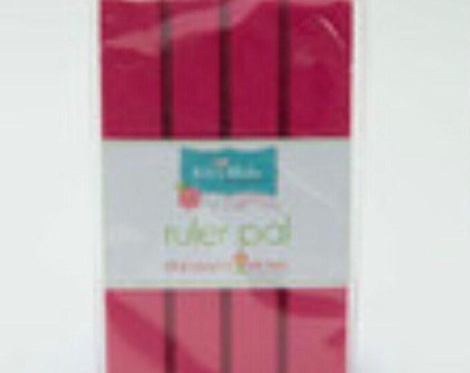Pleasant Home Ruler Pad - Hot Pink