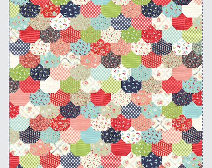 Clambake Quilt Pattern from Thimble Blossoms by Camille Roskelley