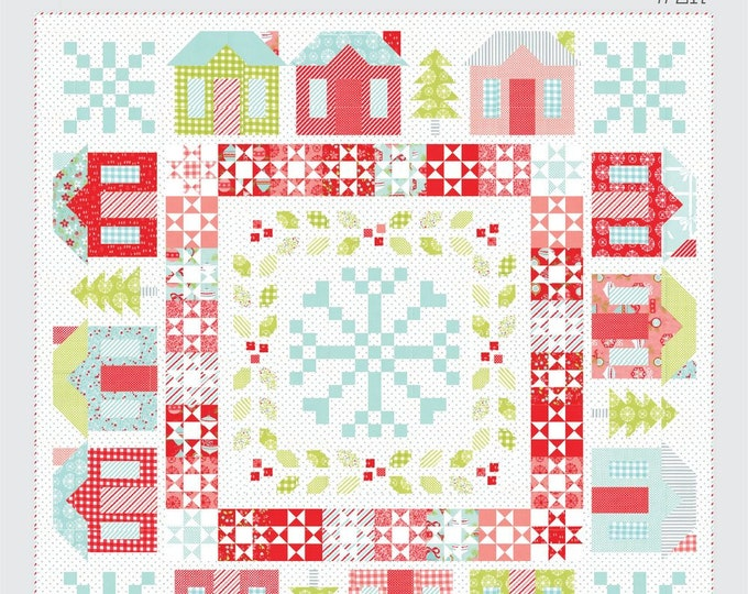 Winterville Quilt Pattern from Thimble Blossoms by Camille Roskelley