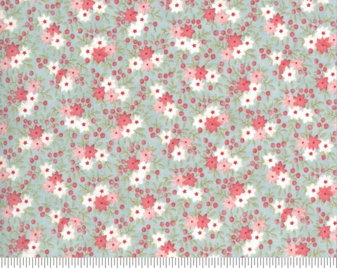 Moda Sanctuary Tranquil floral Fabric by 3 Sisters