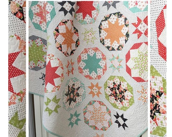 Fireworks Quilt Pattern by Margot Languedoc for The Pattern Basket