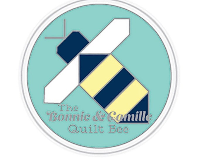 Bonnie and Camille Quilt Bee Enamel Magnetic Needle Minder