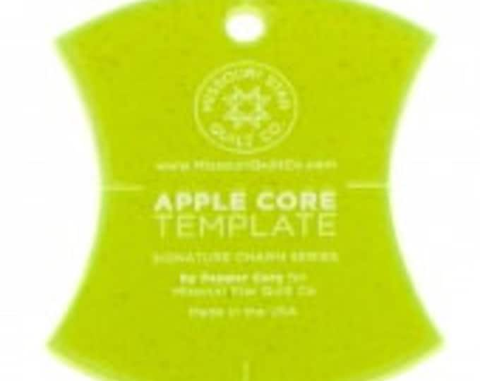 """Missouri Star Small Apple Core (4 1/2"""") Template for 5"""" Charm Packs"""