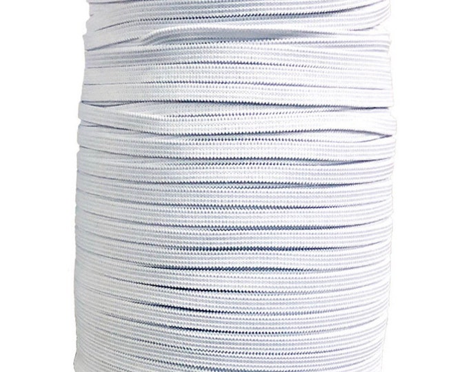 1/4 inch Soft Elastic for crafts, masks, DIY Projects
