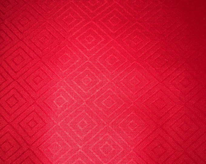 Moda Picnic Basket Wovens Red 100% Cotton