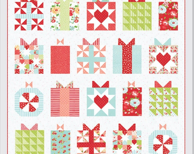 Handmade with Love Quilt Pattern from Thimble Blossoms by Camille Roskelley