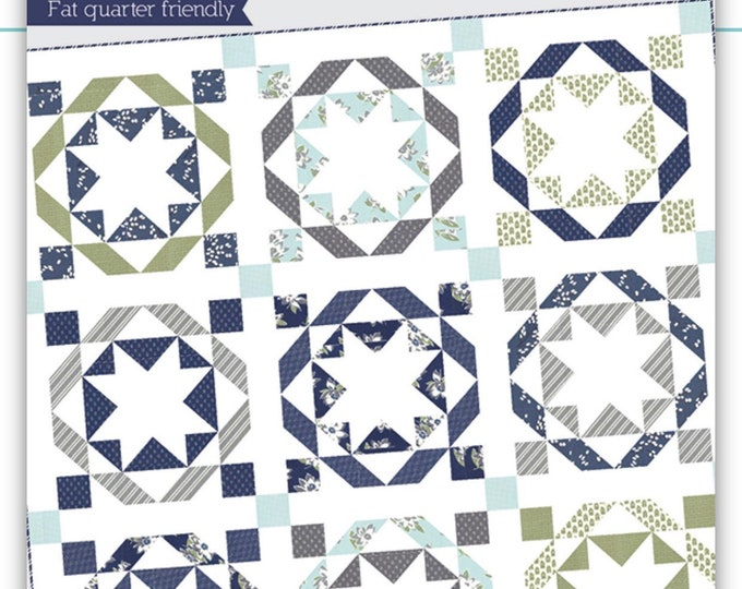Beach House Quilt Pattern from Thimble Blossoms by Camille Roskelley