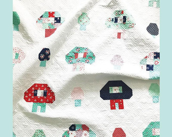 A Nice Place to Live Quilt Pattern by Tasha Noel
