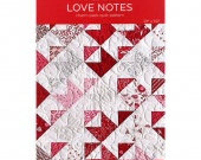 """MSQC Love Notes Quilt Pattern for 5"""" Squares"""