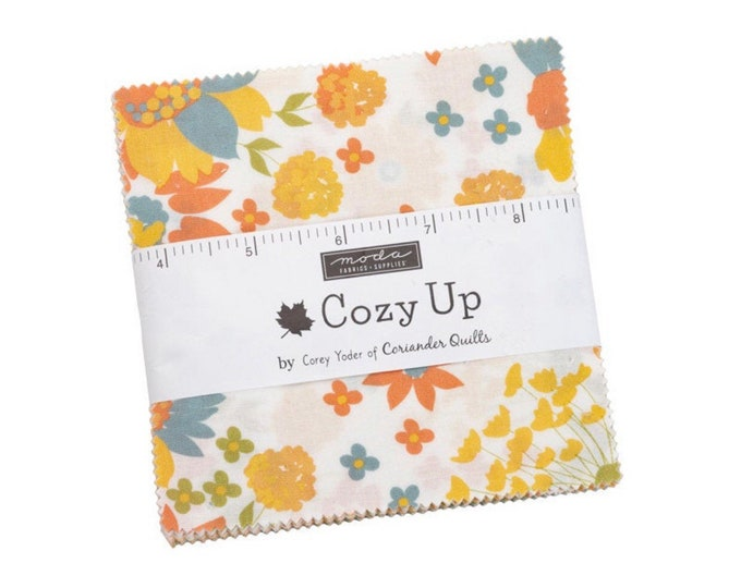 """Cozy Up 5"""" Charm Pack by Cory Yoder for Moda - 42 Pieces"""