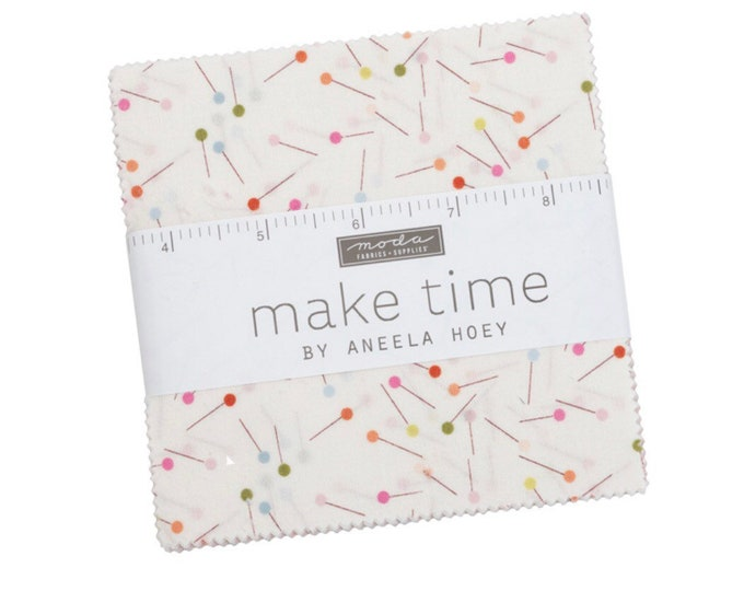 """Make Time 5"""" Charm Pack by Aneela Hoey for Moda - 42 Pieces"""