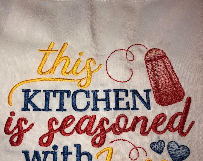 Kitchen Apron, Kitchen Accessory, Neighbor Gift, Bridal Shower Gift