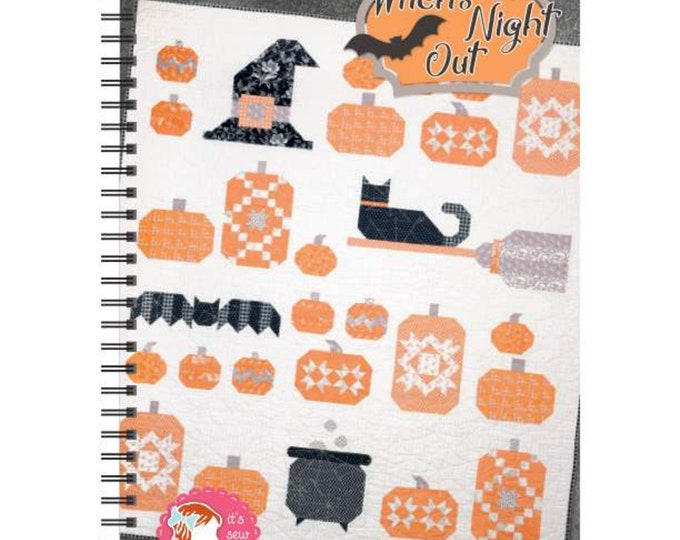 Witches Night Out Quilt Pattern by It's Sew Emma