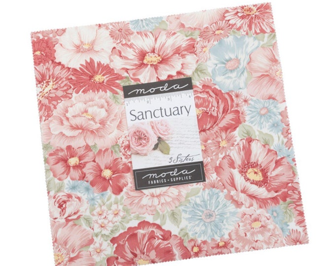 """Sanctuary 10"""" Layer Cake by 3 Sisters for Moda - 42 Pieces"""