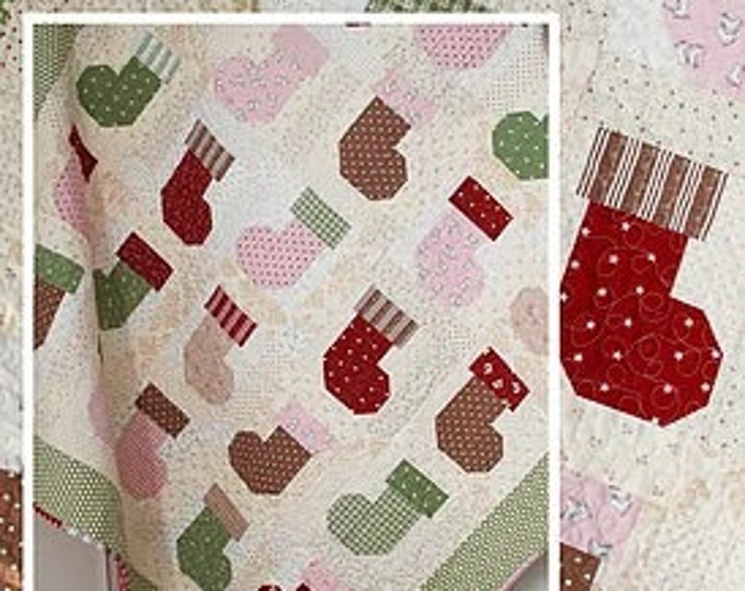 Stocking Stuffers Quilt Pattern by Margot Languedoc for The Pattern Basket