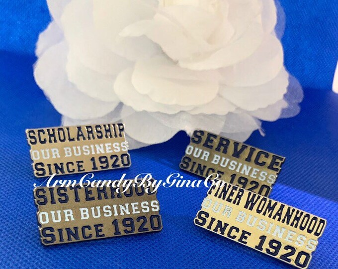 Our Business Since 1920 Lapel Pin Set